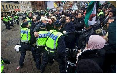 Malmö - demonstrationer